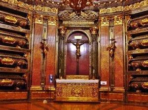 El Panteón de los Reyes en el Escorial