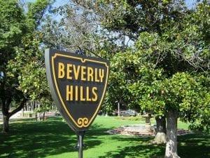 En Beberly Hills viven muchas estrellas de cine