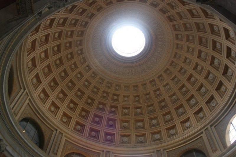 Cúpula agujereada del Panteón