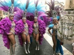 El entierro de la sardina es una fiesta muy carnavalesca