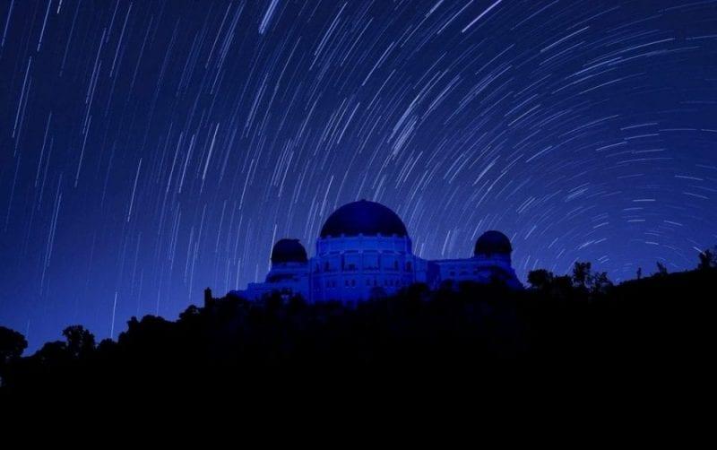 Lluvia de estrellas sobre Los Ángeles