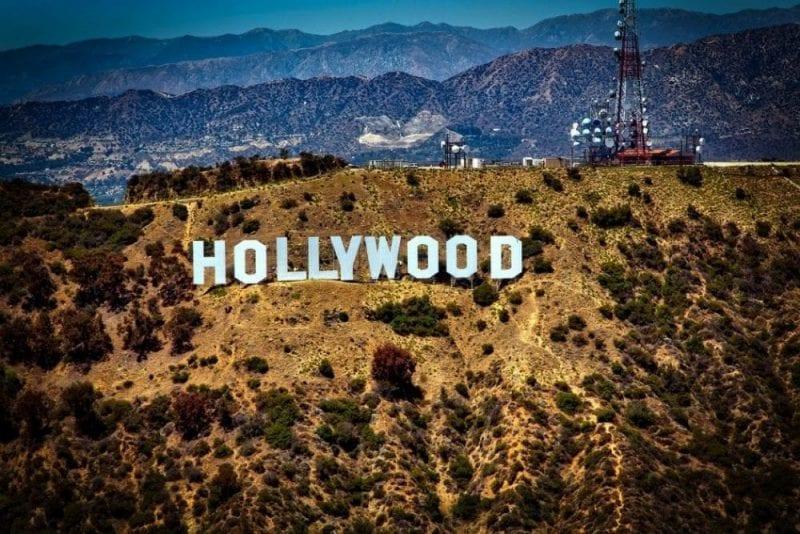 El monte de Hollywood, la foto más típica