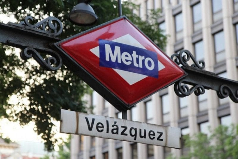 La calle Velázquez es muy comercial