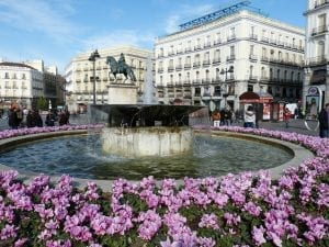 La Puerta del Sol. el corazón de Madrid