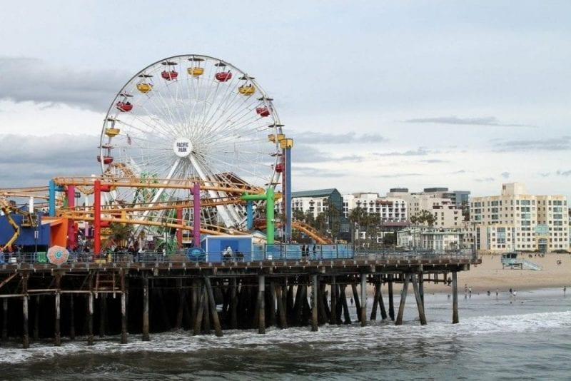 La noria de Santa Mónica, una atracción recomendada