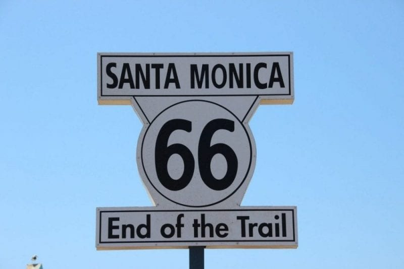La Ruta 66 acaba en el muelle de Santa Mónica