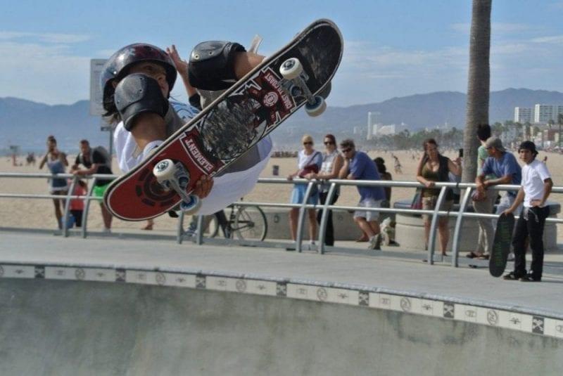 Venice, la favorita de los skaters