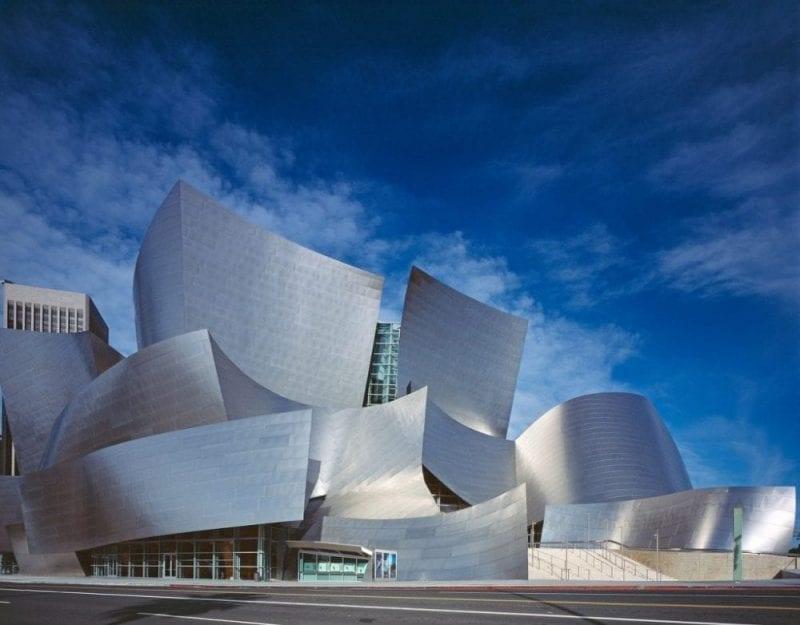 El Walt Disney Center de Los Ángeles recuerda al Guggenheim de Bilbao