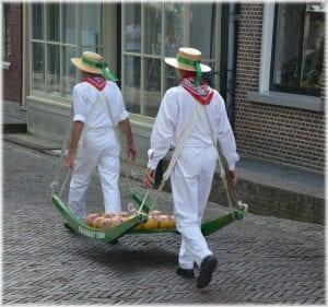 El queso Edam, el más típico de Holanda