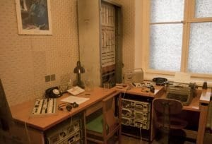 Viejo despacho de la KGB en Vilnius