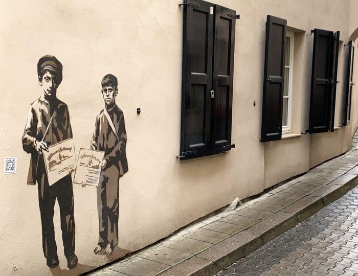 #wallsthatremember es un proyecto de arte urbano y memoria