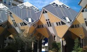 Las casas cubo de Rotterdam son del año 1984