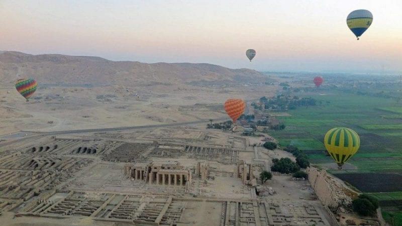 Pase en globo en Luxor, muy recomendable