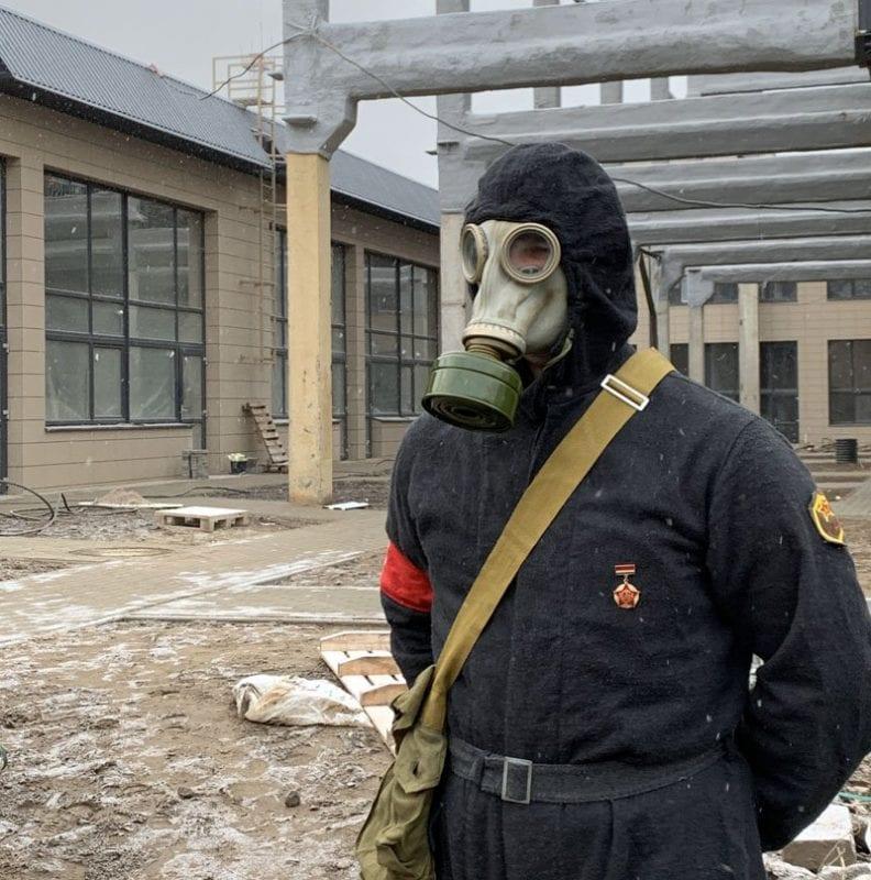 Las mascaras de gas, complemento habitual de supervivencia