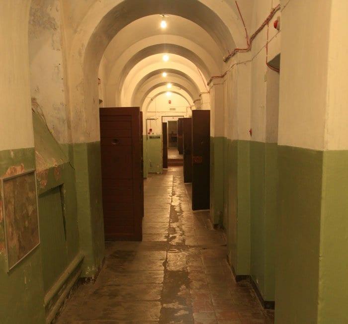 En estos pasillos se rodaron escenas de la serie Chernobyll