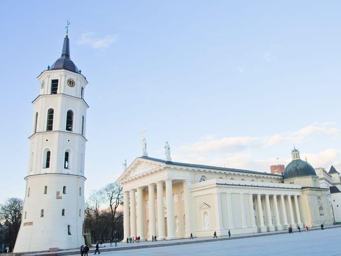 Plaza de la Catedral de Vilna