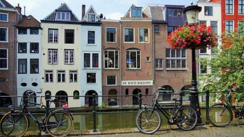 Detalle de un rincón de Utrecht
