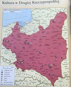 Mapa Polonia entreguerras