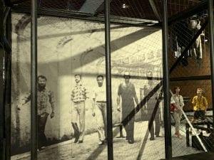"""Foto histórica del """"verano de Gdansk"""" expuesta en el museo de Solidaridad"""