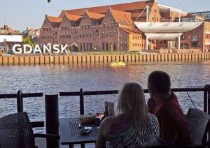 Gdansk es una ciudad portuaria con un bello casco histórico