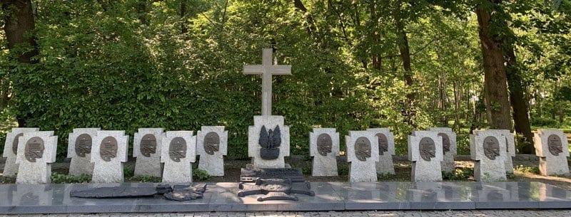 Tumbas de los polacos caídos en Westerplatte