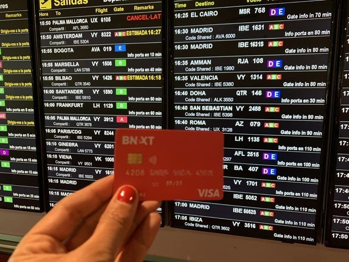 La tarjeta Bnext te permite ahorrar comisiones en todo el mundo