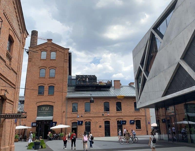 El centro Koneser es un ejemplo de arquitectura industrial
