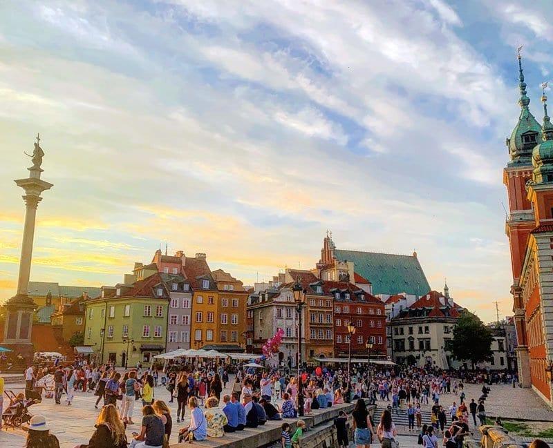 Plaza del obelisco de Varsovia