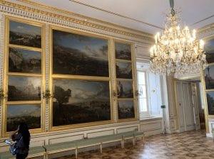 Sala dedicada a Canaletto en el castillo real de Varsovia