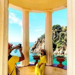 Rincones fotogénicos con vistas al mediterráneo