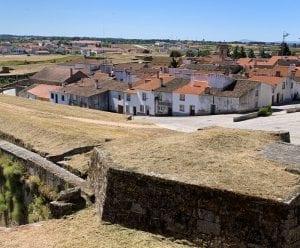 Panorámica de Almeida desde la fortaleza