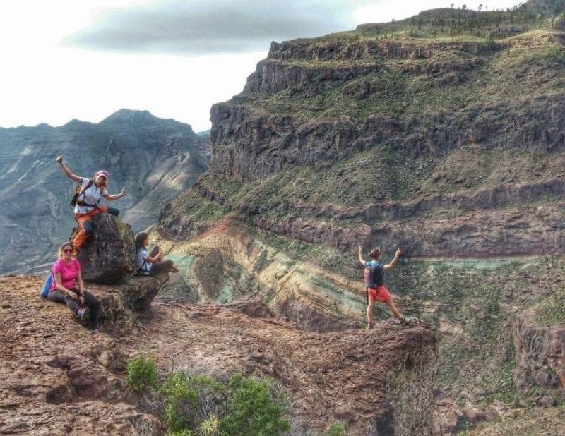 Si te gusta el senderismo en Gran Canaria puedes hacer muchas rutas