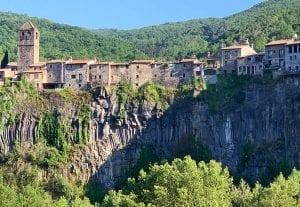 Vista de Castellfollit de la Roca