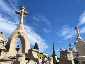 Las esculturas del cementerio de Lloret datan del año 1900