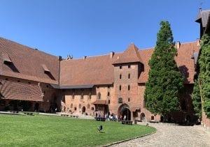 Entrada al castillo de Malbork