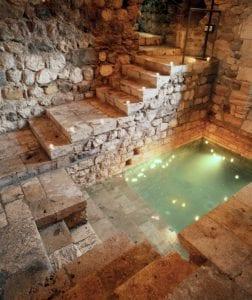 El mikvé de Besalú se descubrió hace sólo unos años