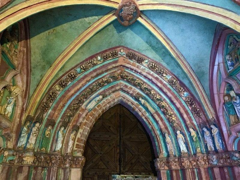 La religión, siempre presente en el castillo