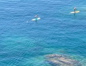 La costa Brava es perfecta para la práctica del paddle surf
