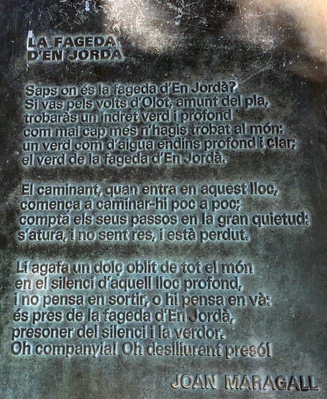 Poema de Maragall