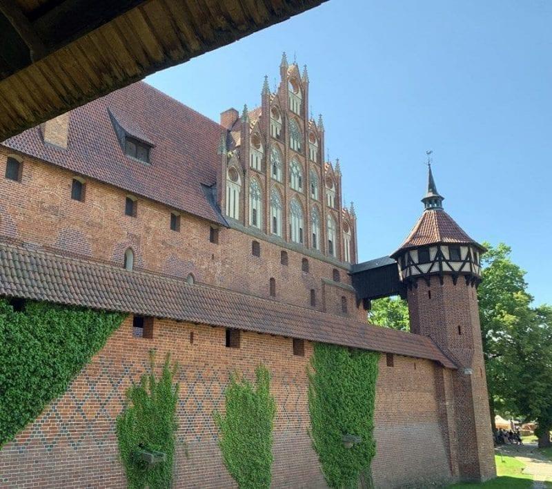 Malbork tiene muchos rincones fotogénicos