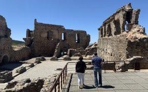 Ruinas del palacio castillo de Castelo Rodrigo