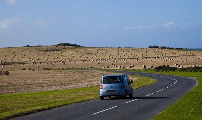 Conducir por Escocia es un placer