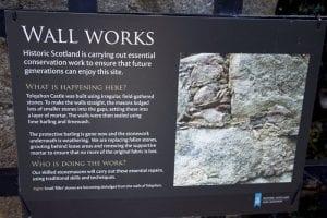 Información sobre el castillo de Tolquhon