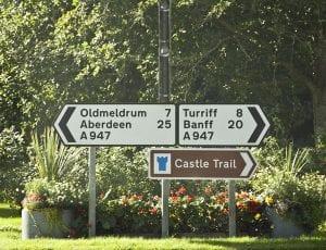 La ruta de los castillos está bien señalizada