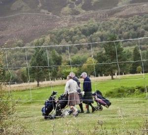 Jugadores de golf escoceses