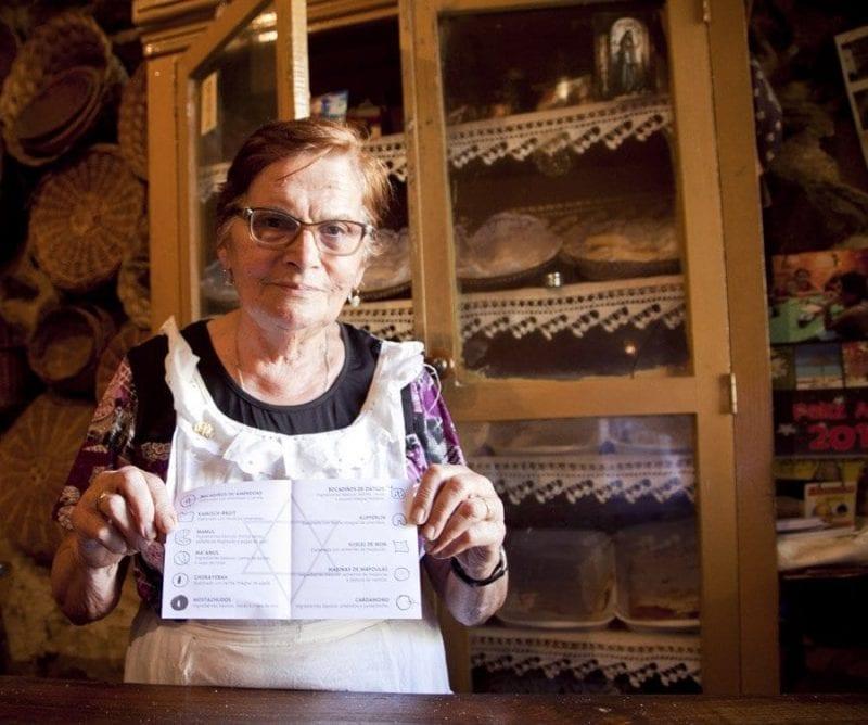 Doña Herminia vive para su tahona