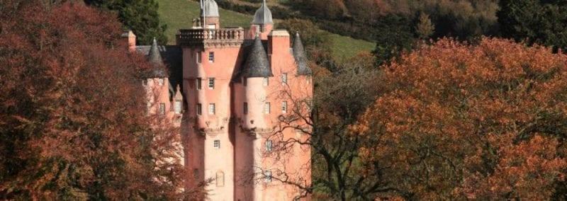 Exteriores del castillo de Craigievar