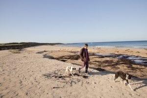 Las playas del noroeste de Escocia son hermosas