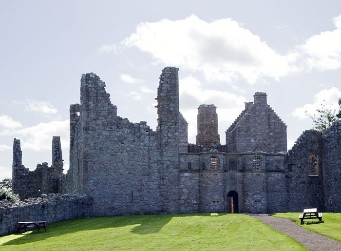 Ruinas del castillo de Tolquhon