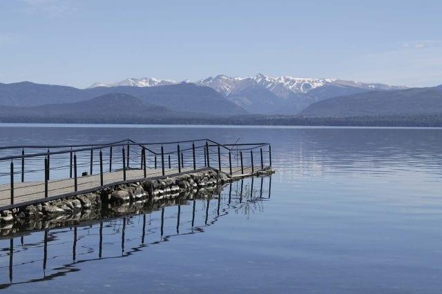 Acampar en el lago Nahuel Huapi es muy recomendable
